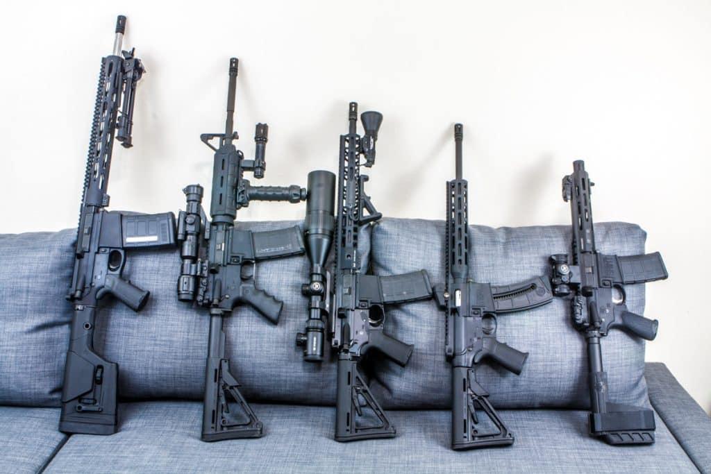 Saint Pistol AR Comparison