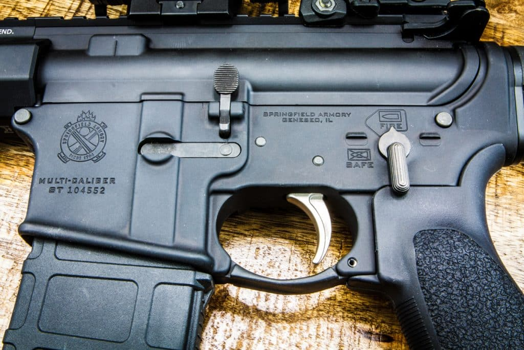 SAINT AR-15 Pistol Upper Left