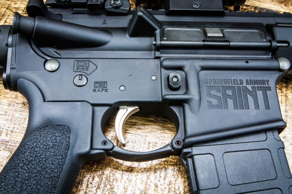 SAINT AR-15 Pistol Upper Right
