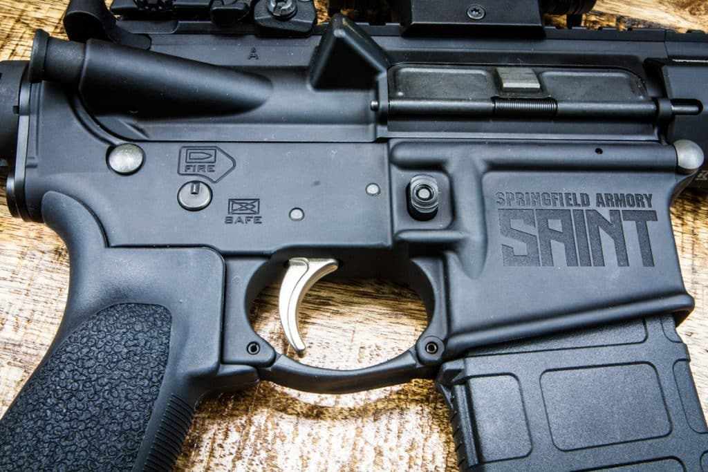 SAINT AR-15 Pistol Upper Right