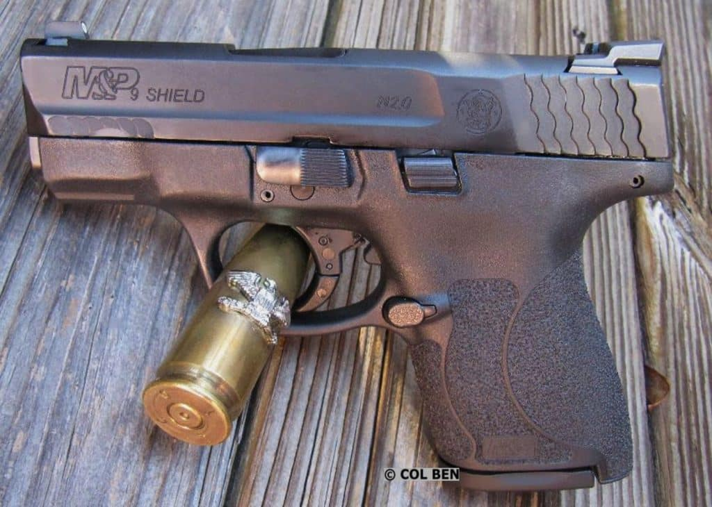 SUB-COMPACT: Smith-Wesson M&P Shield M2.0 9mm