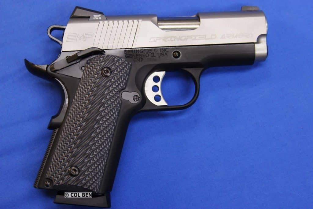 SUB-COMPACT: Springfield Armory EMP 3 9mm