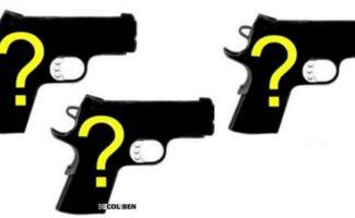 3 NEW 2018 Pistols