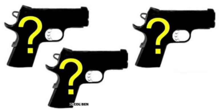 3 New Pistols for Early 2018