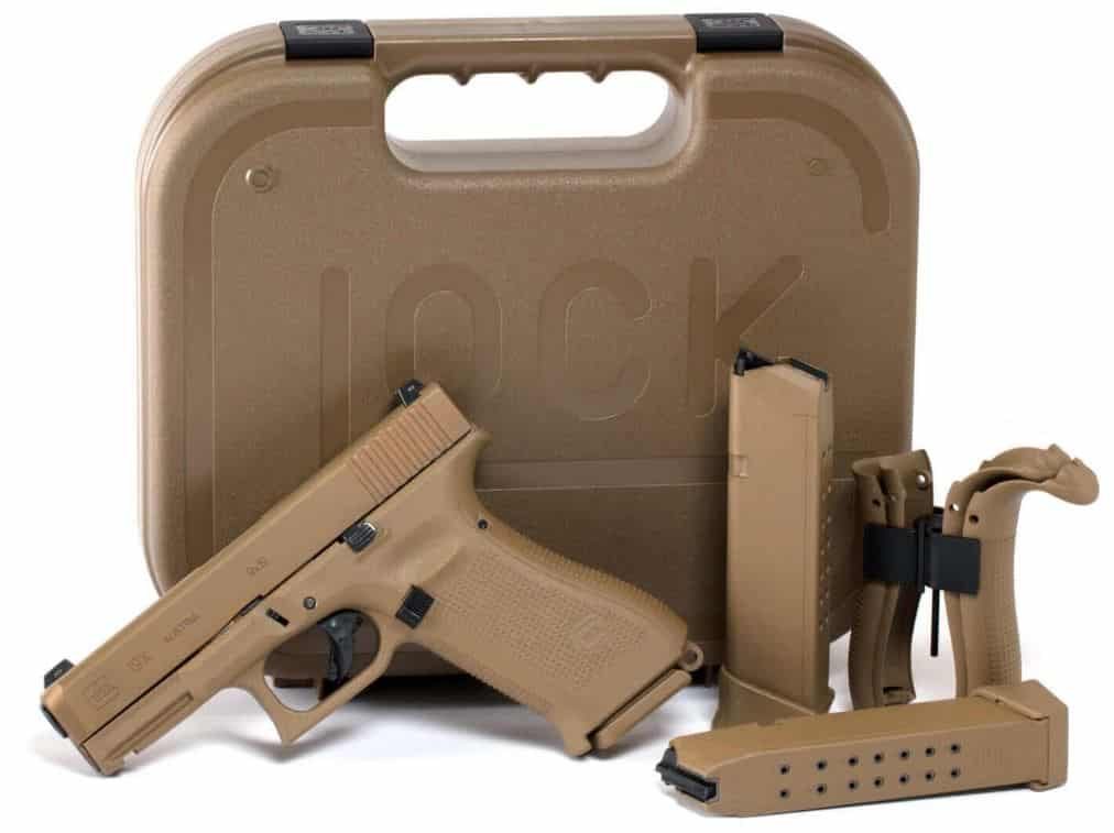 Glock 19X with Hard Case, 3 Mags, Interchangeable Backstraps, and Tool