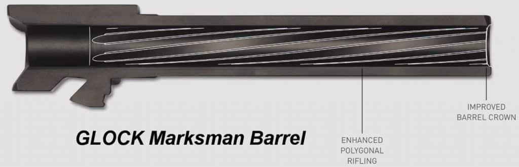 G19X Crossover - Marksman Barrel-Rifling-Crown