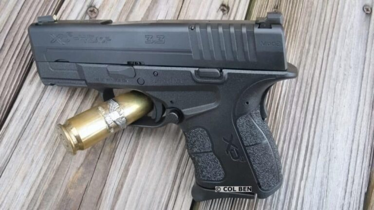 FIRST REVIEW: SA XD-S Mod.2 Single Stack .45ACP