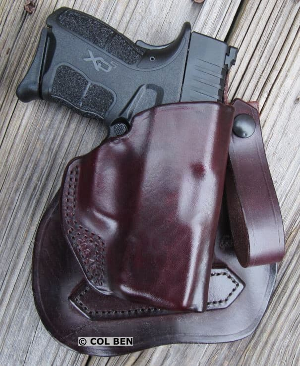 Kramer Holster OWB Leather MSP Paddle-Belt Loop Holster