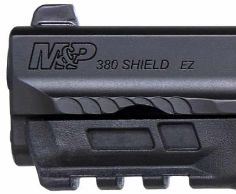 M&P .380 Shield EZ -M2.0 RAIL- SERRATIONS