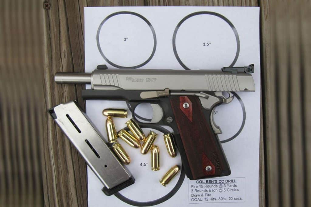 Concealed Carry Drill: Basic for Beginners and Warm-Up for Experienced Carriers