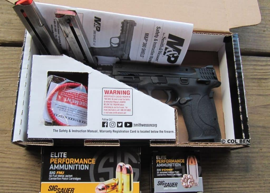 HANDS-ON REVIEW: Smith-Wesson M&P 380 Shield EZ - USA Carry