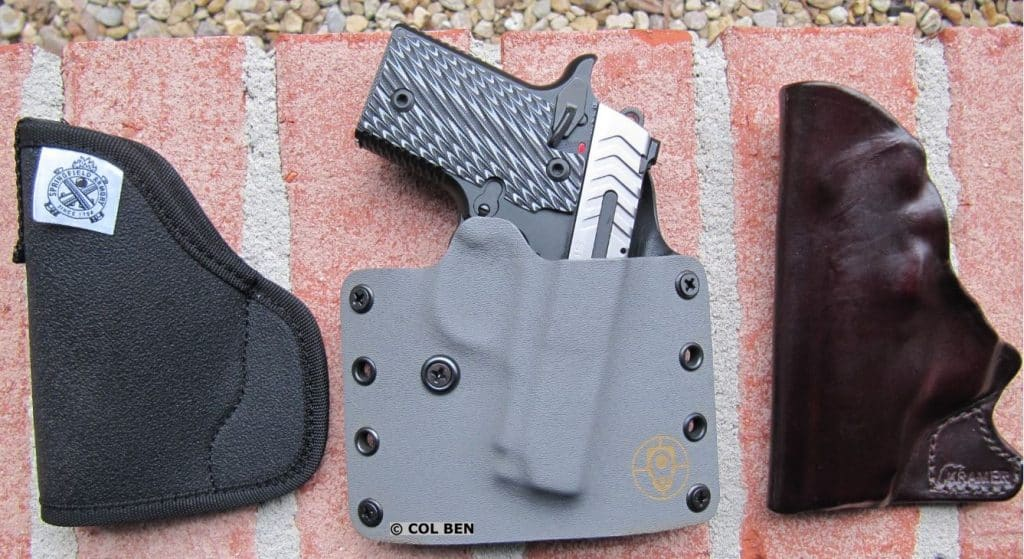 Holsters for the Springfield Armory 911 .380 ACP