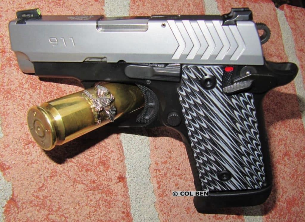 FIRST REVIEW: Springfield-Armory 911  380 Sub-Compact - USA Carry