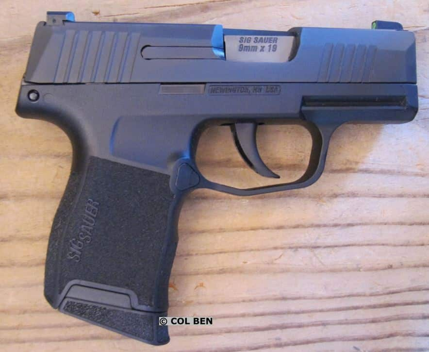 Sig Sauer P365 - Right Side - No Manual Safety
