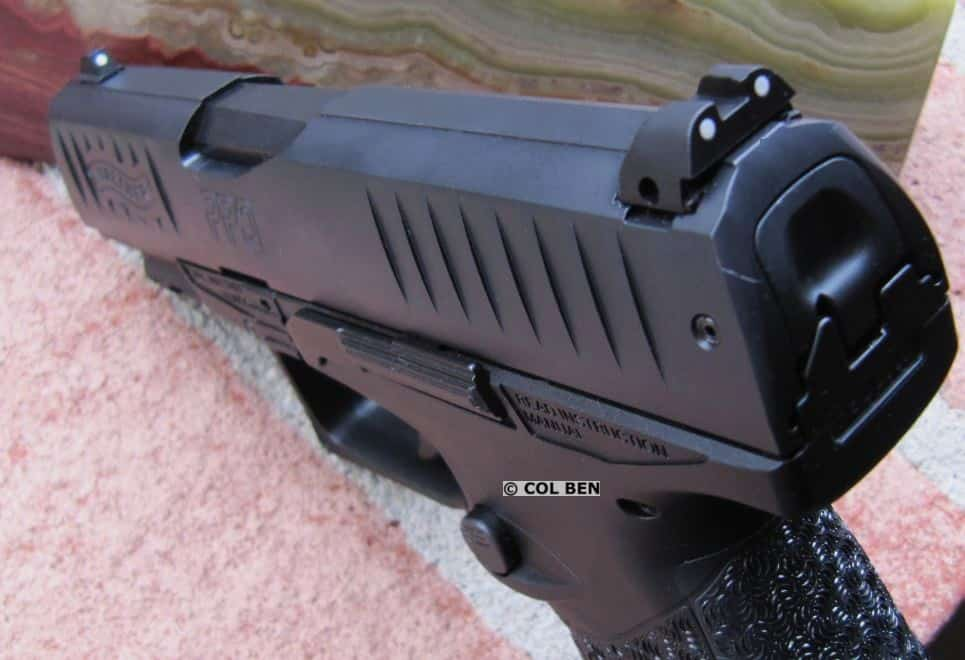 PPQ SC 3-Dot Fixed Polymer Sights