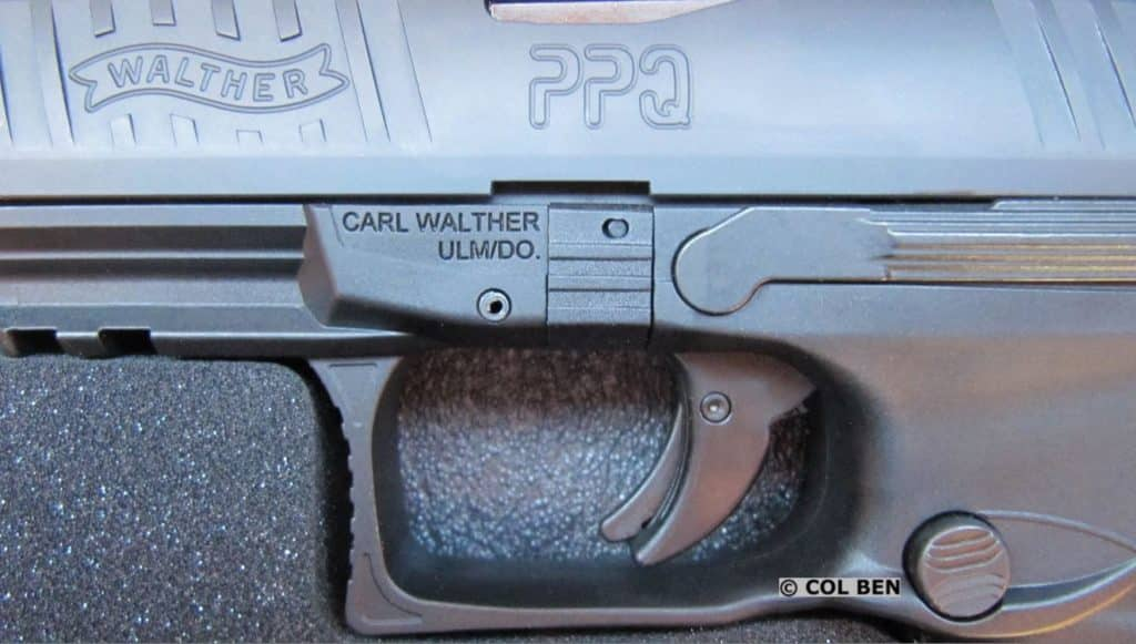 PPQ M2 SC Trigger has Very Shot Reset and Travel Distance