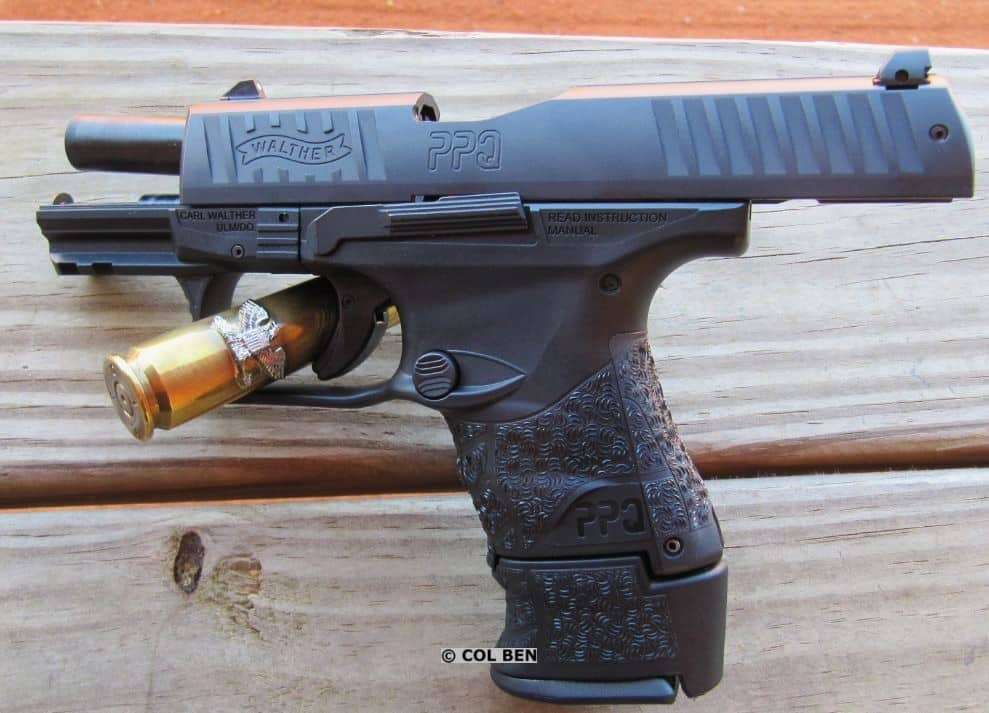 PPQ Sub-Compact 9mm with 15-Round Extended Mag and Sleeve