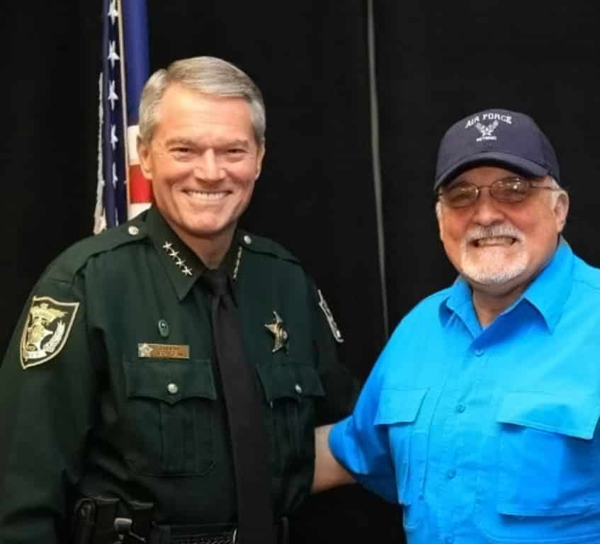 Sheriff Morgan and Ben Findley
