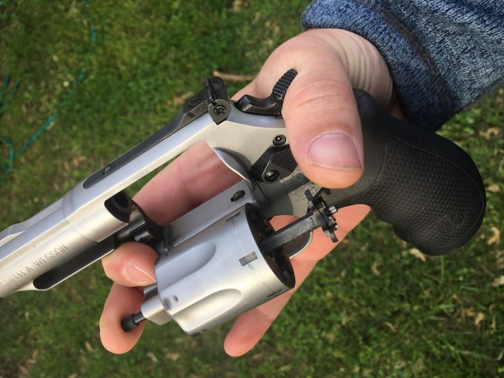 When it all Goes Wrong: One-Handed Revolver Reloads