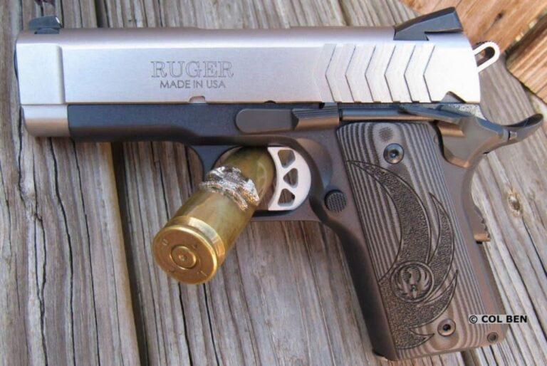 Ruger SR1911 Lightweight Officer-Style Review