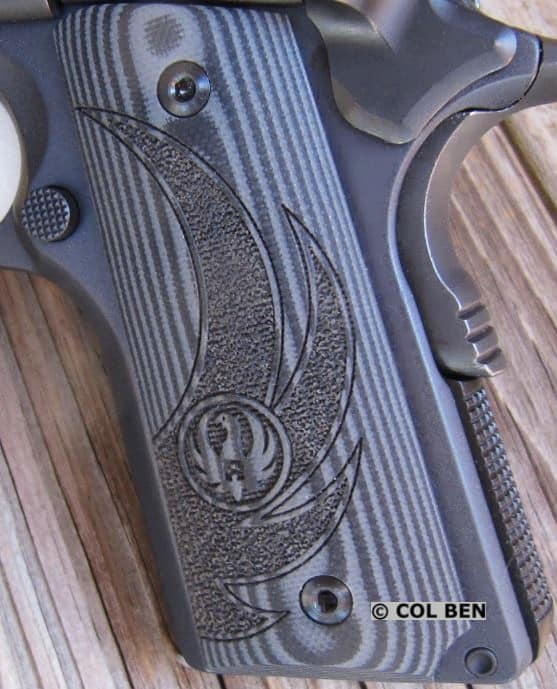 SR1911 G-10 Grips with Ruger Logo