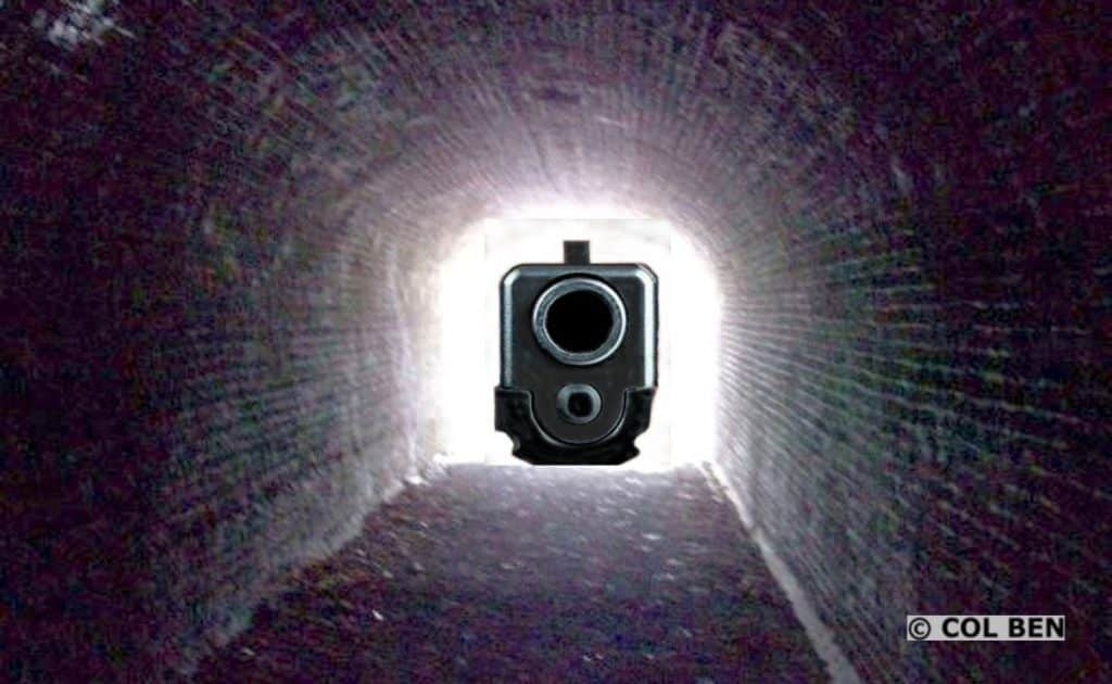 Tunnel Vision Occurs in Deadly-Force Situations