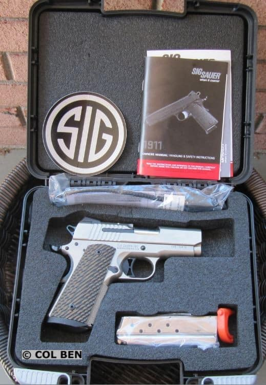 Sig 1911 Ultra Compact CASE