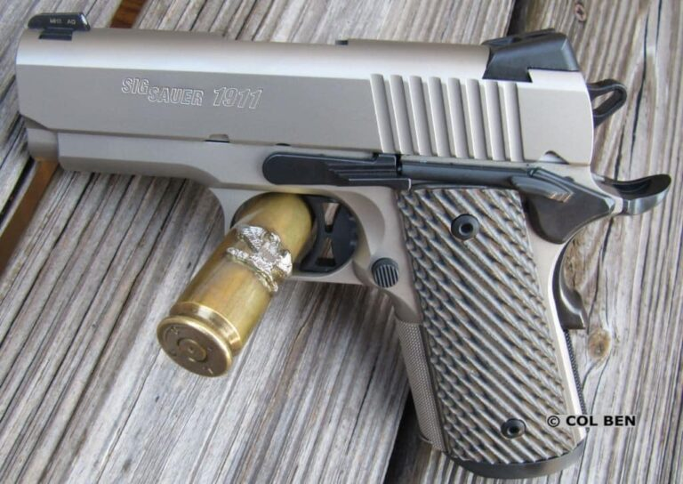 Sig Sauer 1911 Ultra Compact 3.3″ 9mm Review