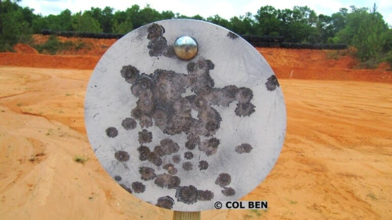 Rogue Shooting Targets 3/8″x10″ AR500 Steel Gong and Stand Review
