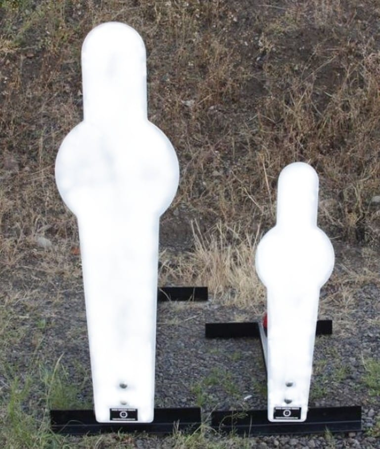 Rogue AR500 Steel Reactive Popper Targets