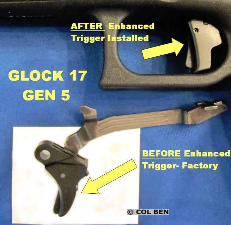 Apex Action Enhancement Trigger & Trigger Bar for Glock Gen