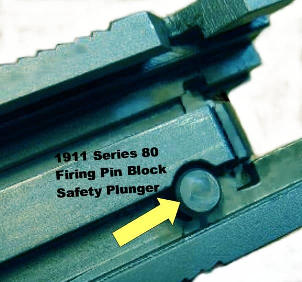 Colt Defender has a Series 80 Firing Pin Block Safety