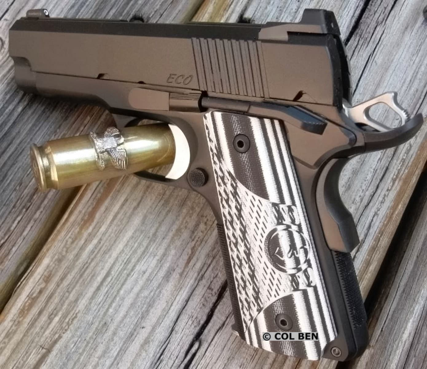 Dan Wesson 1911 Eco Sub Compact 9mm Review Usa Carry