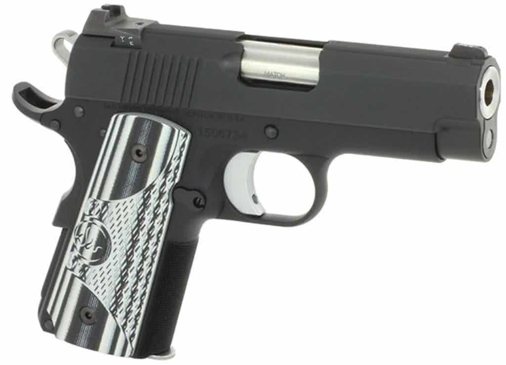 Dan Wesson 1911 ECO Sub-Compact 9mm
