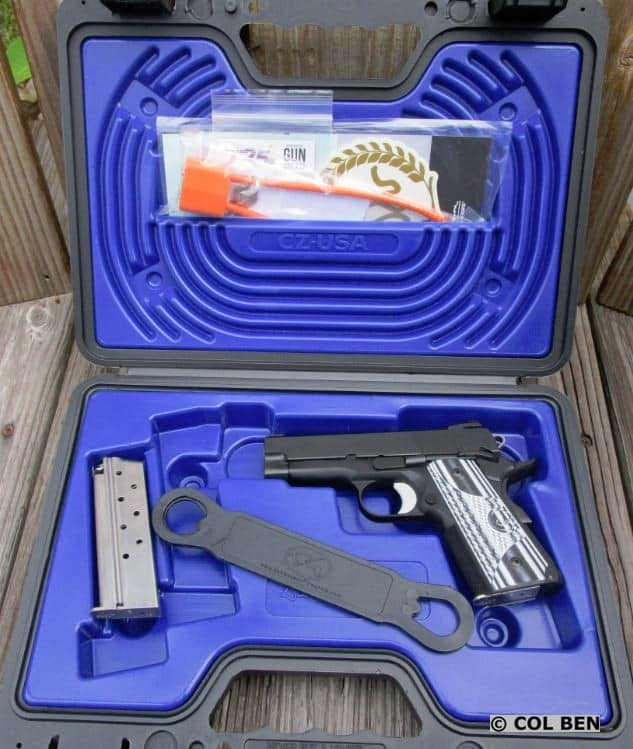 Dan Wesson 1911 ECO 9mm in Hard Case with 2 Mags, Lock, Instruction Manual & Bushing Wrench (Extra)