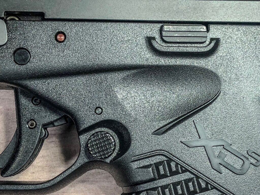 XD-S 9mm Thumb Notch