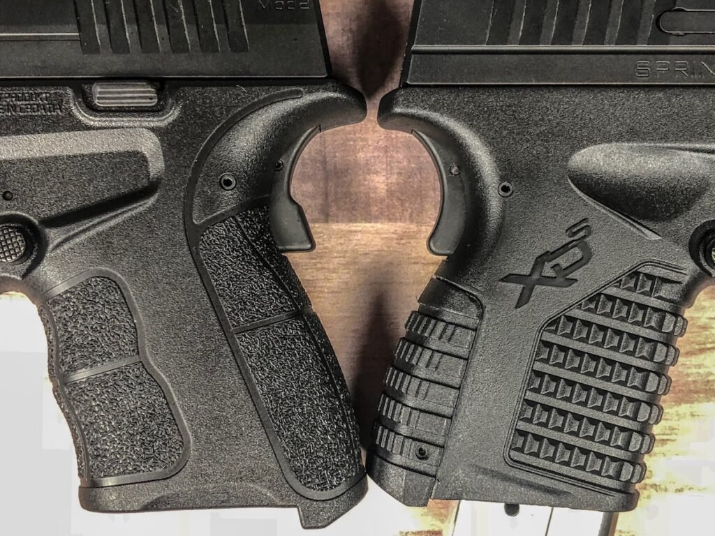 XD-S Mod.2 9mm Grip Texture VS. XD-S 9mm Grip Texture