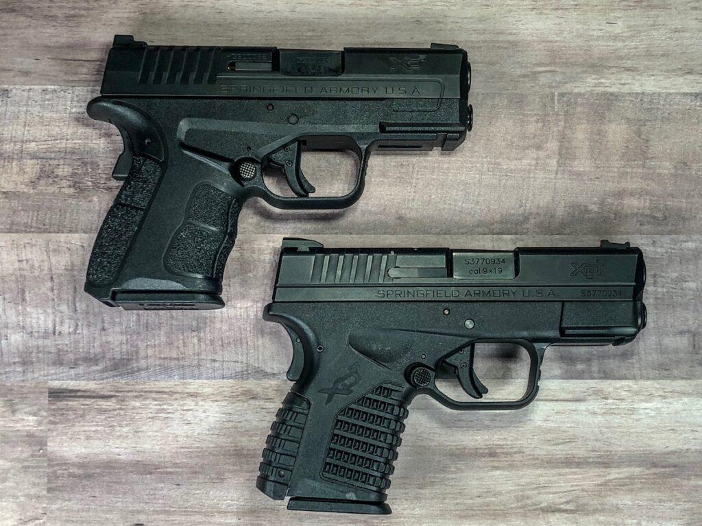 XD-S Mod.2 9mm VS. XD-S 9mm