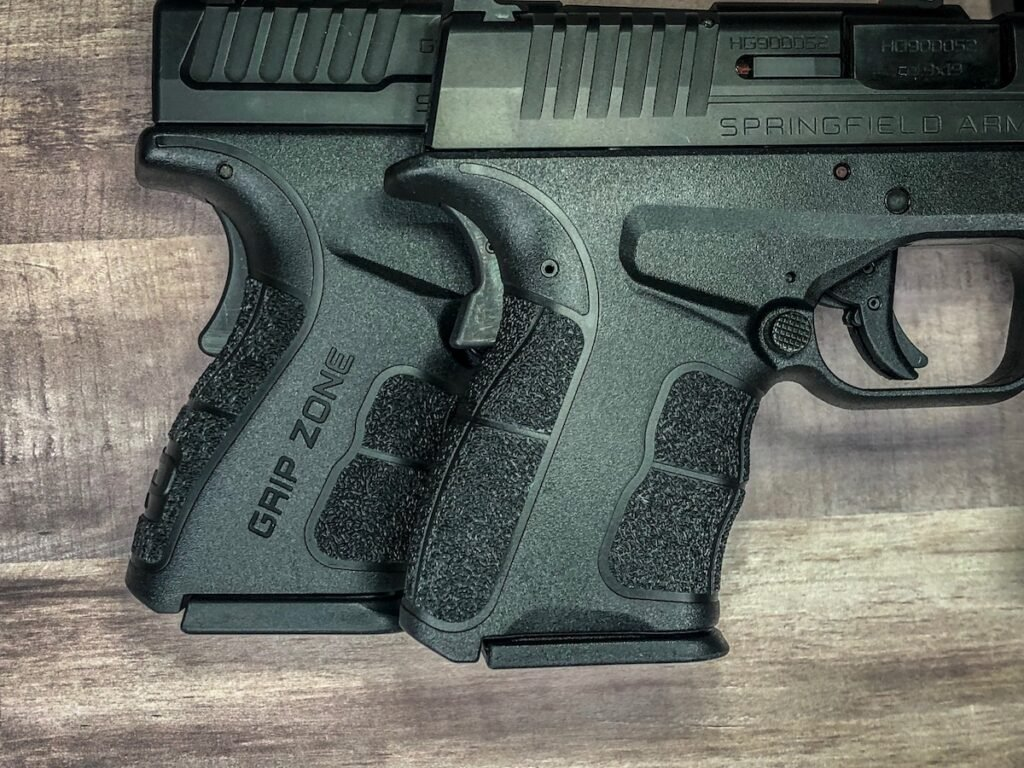 XD-S Mod.2 9mm Grip Texture VS. XD Mod.2 9mm Grip Texture