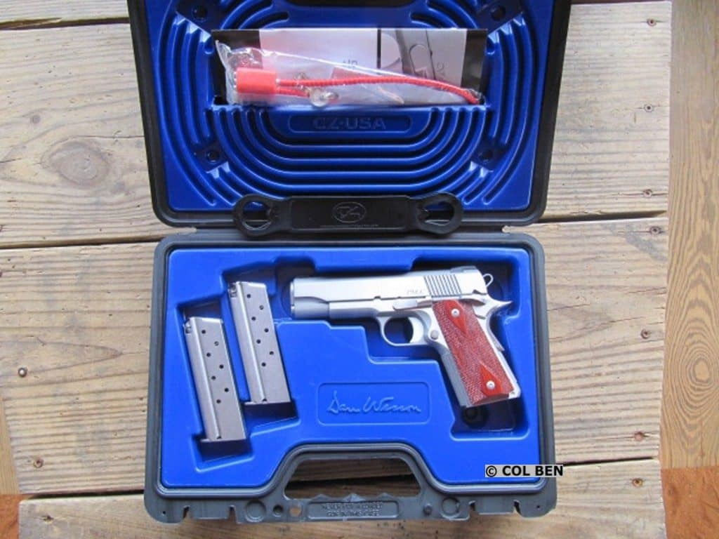 Dan Wesson 1911 PM-C in Hard Case with 2 Mags, Lock, Instruction Manual & Bushing Wrench