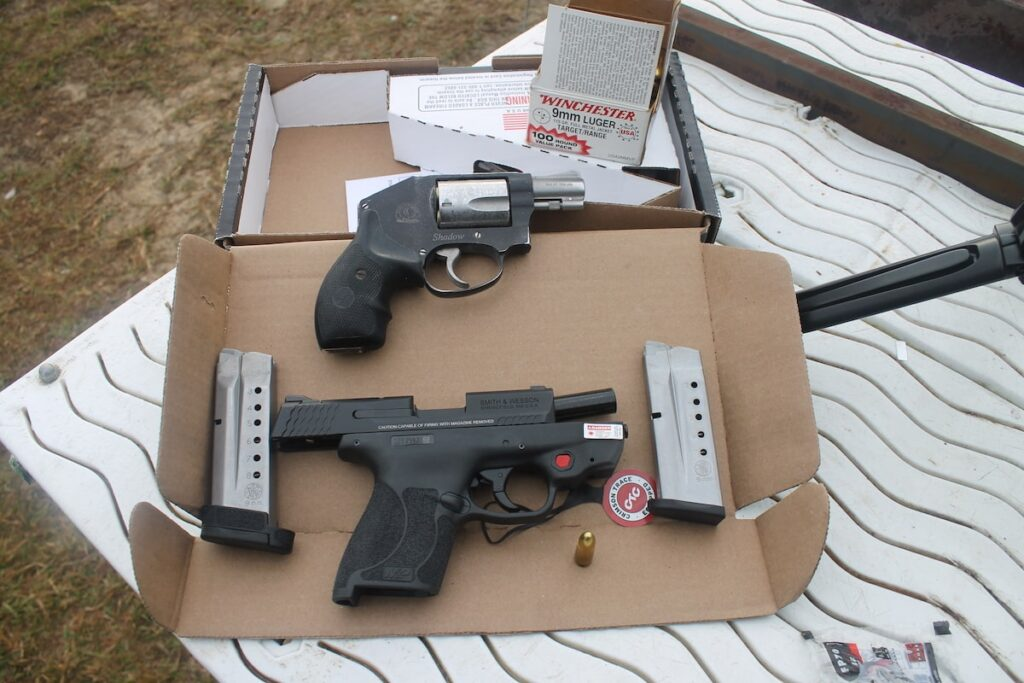 M&P9 SHIELD M2.0 with Integrated Crimson Trace Red Laser Review