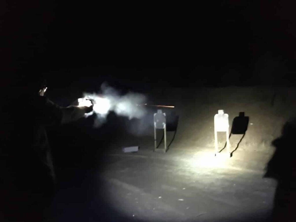 Streamlight ProTac 2L-X at Range