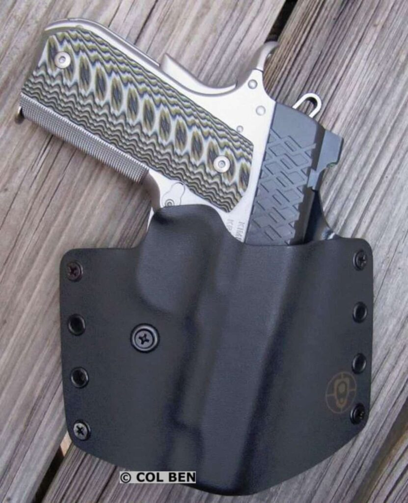 BlackPoint Tactical's Kydex OWB Standard Belt Holster with Kimber Aegis Elite Pro 9mm Compact 1911