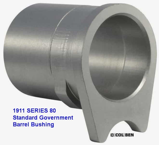 Series 80 1911s Use the Standard, Solid Barrel Bushing.