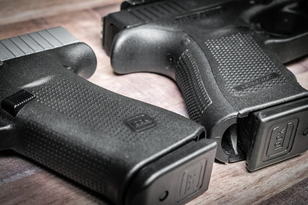 Glock 43X Glock 48 Grip Texture