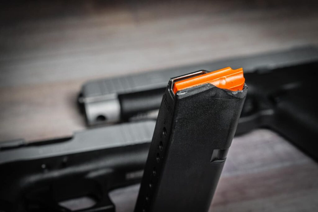 Glock 43X 48 Orange Magazine Follower