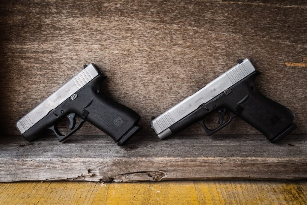 Glock 43X and Glock 48 Range Report