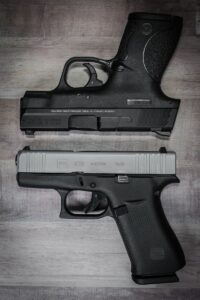 Glock 43X vs S&W M&P9
