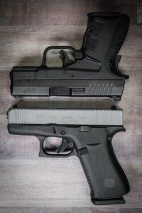 Glock 43X vs Springfield Armory XDs Mod.2