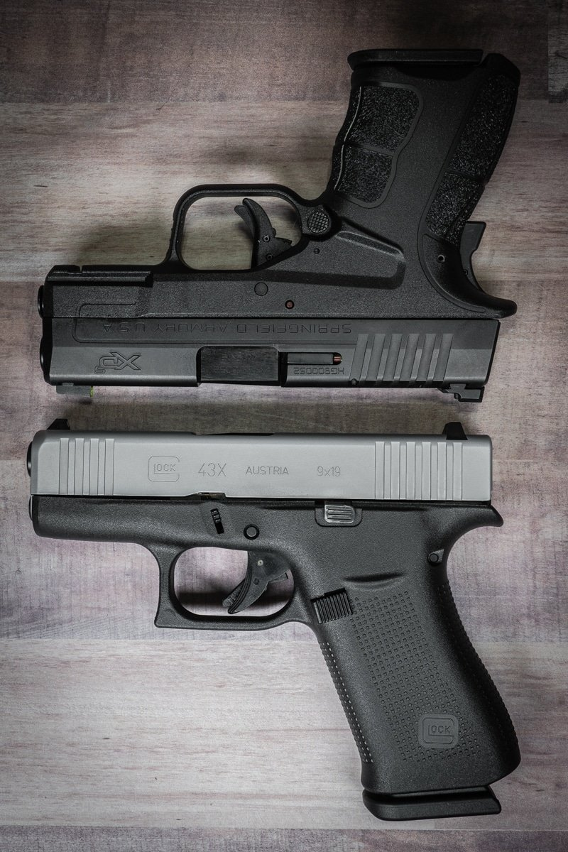 First Look: Hands-On Review of the Glock 43X and Glock 48